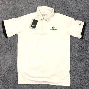 Nike Golf Polo Pumpkin Ridge White Golf Shirt XL